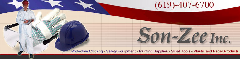 Protective Clothing, Safety Equipment, Painting Supplies, Hyde Hand Tools, Paper & Plastic.
